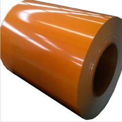 Acero inoxidable con recubrimiento de color RAL en tira de acero en espiral PPGI Material de construcción PPGL