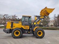 Carregador pequeno XCMG 5 toneladas para a Extremidade Dianteira carregadora de rodas ZL50GN