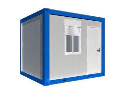 10 Fuß expandierbarer Kabine-Flachgehäuse-Behälter-Haus-Lagerraum-