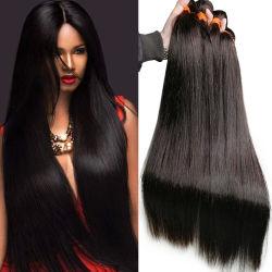 ロシアの毛の卸し売りは中国 Wig ペルーのまっすぐな再生毛をバンドルする 安くてブラジルの髪をウィーブ 100% 天然ピュアバージンヒューマン ヘアエクステンション