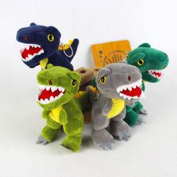 Kinder Schlüsselanhänger Spielzeug 4 Farben Dinosaurier Puppe Anhänger Plüsch Spielzeug