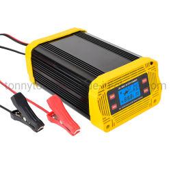 Caricabatterie da auto da 12 V/24 V 20 a caricabatteria da auto per uso automobilistico Batteria al piombo e al litio