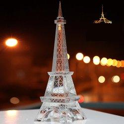 صنع وفقا لطلب الزّبون زجاجيّة بلّوريّة حديد برج [إيوروبن] تجهزات تذكار