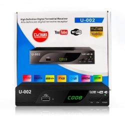 Sunplus 1509c HD H.264 MPEG-4 DVB-T2 셋톱 박스 수신기