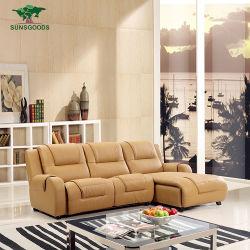 Best verkopende Reclining modern Small L Shape Sofa Set Design Meubilair