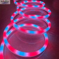 Licht van de Kabel van RGB LEIDENE Teken van het Neon het Lichte Flexibele voor Decoratie