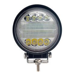 """Barre d'éclairage à LED 48W 4"""" gousses de lumière LED Spot phare de travail carrés Offroad DEL Light Chariot de feu de brouillard la lumière des phares de conduite de l'éclairage de bateau pour le camion de ramassage SUV Jeep ATV UTV"""