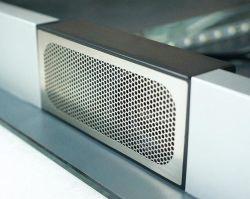 Spreker Bluetooth 2*3W IP44 van de Spiegel van de badkamers de Uiterst dunne