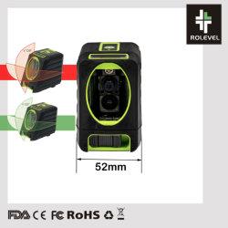 De roterende Dwars Groene Laser van het Niveau van de Laser van Lijnen Auto