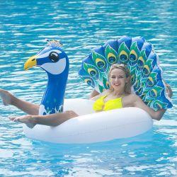 Aufblasbare PVC-Wasserbecken Peacock Schwimmring