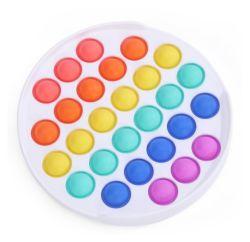 مصنع مباشر رخيصة الذهاب بانج مكافحة السهام بوبيت لعب دفع فقاعة سيليكون بوب سكوير بين الولايات المتحدة لعبة التململ الأطفال