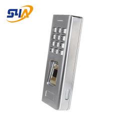 Controllo accesso autonomo con impronte digitali IP66 impermeabile RFID caldo Wg26 in metallo Lettore di schede di controllo accesso con cancello di impronte digitali