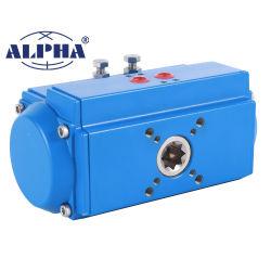 Attuatore pneumatico rotante a 90 gradi serie C Alpha per sfera Valvola di controllo