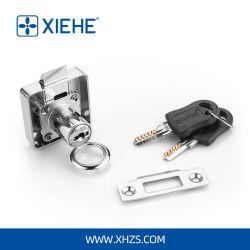 자동적인 용수철 자물쇠 래치를 가진 아연 합금 컴퓨터 키 서랍 자물쇠