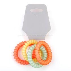 Пластиковые эластичные ленты для волос для женщин