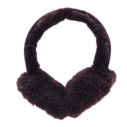 Véritable peau de mouton mérinos Coquille insonorisante Coquille insonorisante chaud en hiver