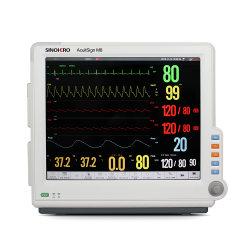 """Acuitsign M8 17"""" LCD affichage haute résolution avec la science tactile plein écran du moniteur patient Multi-Parameter modulaire"""