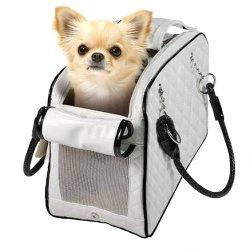 L'accumulazione ha imbottito la borsa del Tote dell'elemento portante della borsa dell'animale domestico del gatto del cane ispirata progettista della pelle verniciata