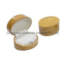 Kleines Arbeitsweg-glattes Lack-Lack-Ende-fester natürlicher hölzerner Uhr-Schmucksache-Armband-Verpackungskiste-Kasten