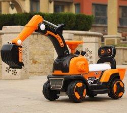 2021 新しい子供はスライドカーのカスタマイズされたプラスチック注入で乗る エレクトリック・チルドレンズおもちゃの自動車用機器音楽付き屋内おもちゃの掘削機 そしてライトのフラッシュ
