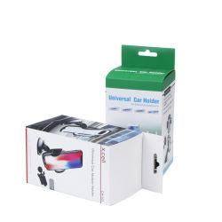 Commerce de gros logo personnalisé Support voiture de téléphonie mobile d'emballage de crochet de suspension de l'emballage d'accessoires pour la boîte