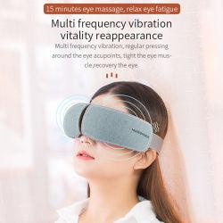 Para los trabajadores de oficina y los lectores. La fatiga ocular masaje instrumento tiene la función de la compresa caliente para aliviar la presión del ojo.