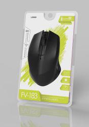 Souris optique sans fil 2.4G de gros de la souris avec nano récepteur USB pour ordinateur portable 3D de la souris optique pour les Grossistes distributeurs