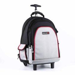 オックスフォードファブリック道具袋のトロリーロールバッグの車輪の専門のツールのバックパック