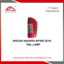 Aluguer de cauda automática a luz da lâmpada para a Nissan Navara Np300 2016-