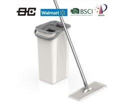 BSCIと平らなモップをきれいにする工場卸し売り安い価格は承認した