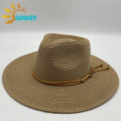 맨 여름 와이드 브림 패션 디자인 파나마 스트로 모자