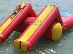 Flotante de doble modo diapositiva con gorila inflable y Blob Jump