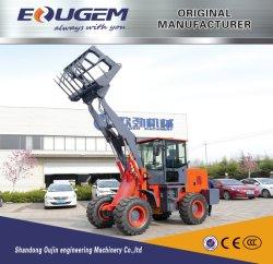 Lader van het Wiel van 2 Ton van China van Eougem 2017 de Hydraulische 4WD Compacte