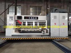 Carton ondulé deux Slotter machine imprimante couleur