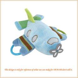 Het pluche Gevulde Speelgoed van het Vliegtuig van het Karakter van het Beeldverhaal