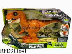 Drôle de jouets électroniques Palstic dinosaure avec du son et lumière