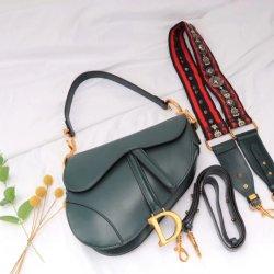 Concepteur de vache de luxe Handbag Ebay de la Chine de gros sacs OEM célèbre marque de piqûre à cheval avec 2 sangles Emg6036