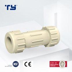 Los sistemas de tuberías CPVC/Plástico/PVC Tubo Tubo de presión de acoplamiento de la compresión de SDR11 con la norma ASTM 2846