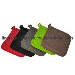 Venta caliente Non-Slip Potholder de silicona resistente al calor