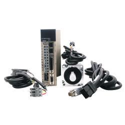 高品質400W 220V 3000rpm 80mm 1.27nm ACサーボモーターおよびドライバーのCNCのサーボモーター、レーザーの打抜き機のためのDCのサーボモーター