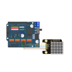 Matrice DOT LED Max7219 per Steam Education