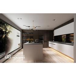 Más Populares Diseño Manco Blum levantar colgajo sistema utilizado en forma de L laca blanca mueble de cocina