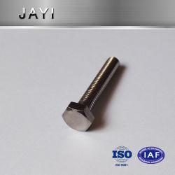 육 놀이쇠 DIN933 DIN931 의 육각형 맨 위 나사 스테인리스, 기계 나사