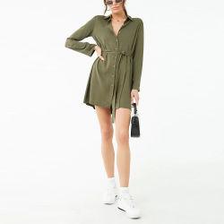 Novas chegadas Plus Size elegante estância Senhoras Camisa Moda mulheres vestidos