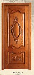 جديدة تصميم [سليد ووود] يدهن باب لأنّ دار غرفة