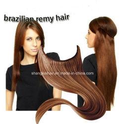 100% Brasileña Remy Cabello HAIR EXTENSION Puntilla trama