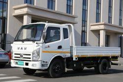 Camion chiaro diesel del carico di Waw per il trasporto della città