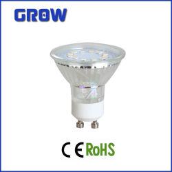 Highquality Glass LED Spotlight (GR1628)のSMD GU10