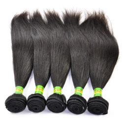 Braziliaanse Haarverlenging Virgin Remy Straight Human Hair Weave