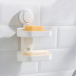 Современным стене висел мыло щеткодержатели душ сливной поддон для сушки держатель для установки в стойку подвешивания всасывания в ванной комнате держатель Soap